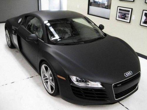 Audi R8 V8 4.2L matt black