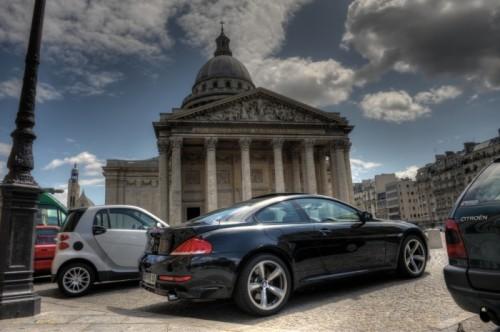 BMW 635D - Arriere