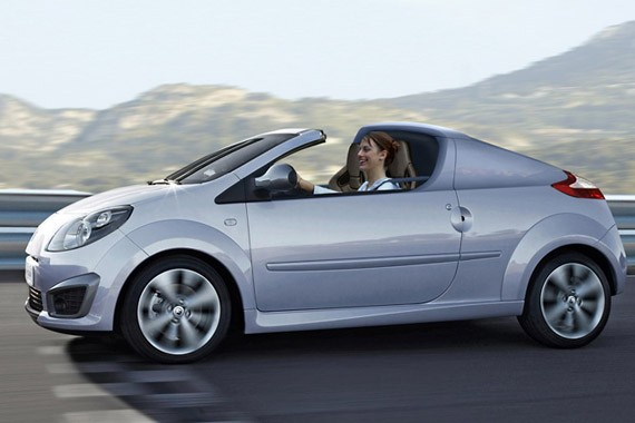 Renault Twingo Roadster 2010 Preview