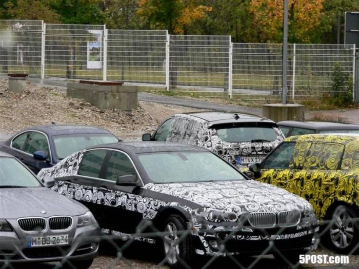 1 Spyshot, 4 nouveautés BMW-Mini