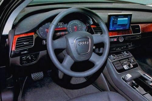 AUDI A8 2010 dashboard spyshot