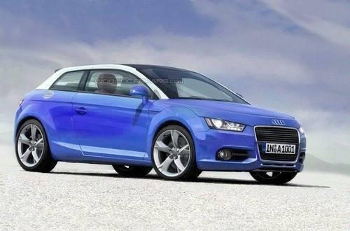 Audi A1 2010 preview