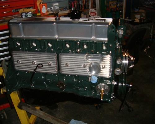 Bloc L6 essence de Land Rover serie 2