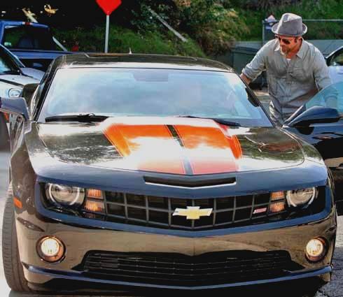 Brad et sa nouvelle Chevy Camaro SS