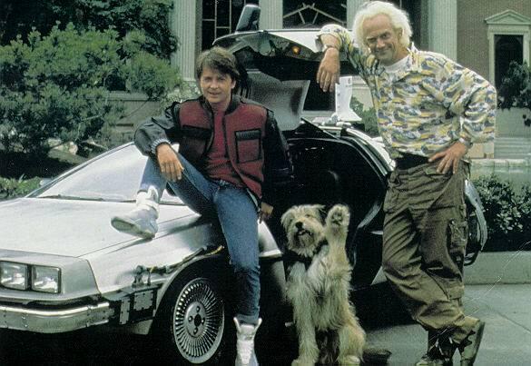 Doc, Marty, Einstein et la DMC 12
