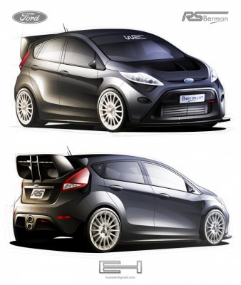 Ford Fiesta RS WEC by Husmen