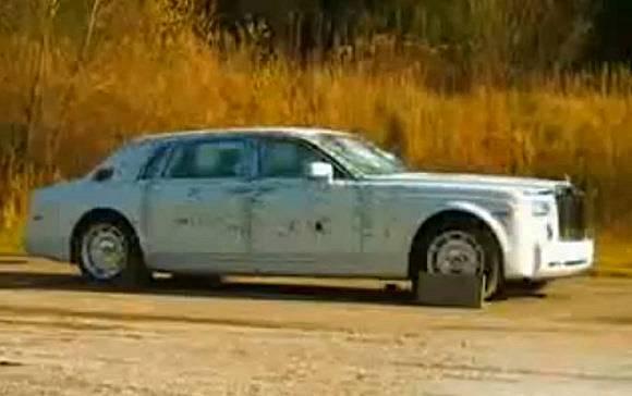 Rolls Phantom blindée par Mutec