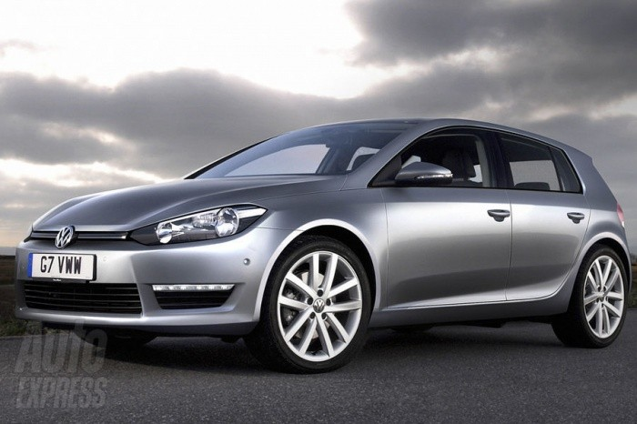 VW golf7 2012 preview