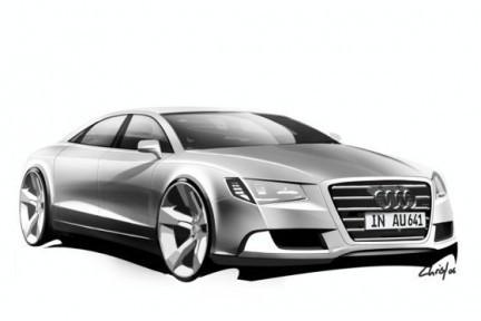 Audi A8 2010 rendu