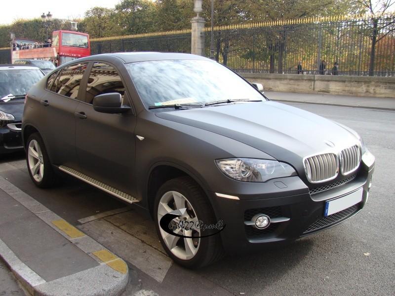 BMW X6 noir mat by Lagunafan