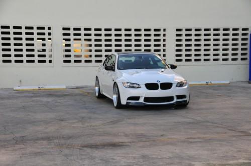 BMW m E92 white