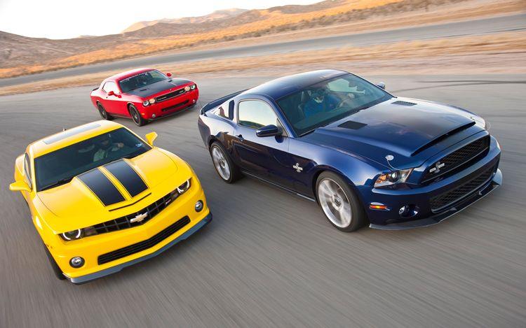 Camaro vs Mustang vs Challenger