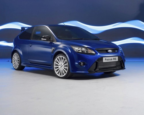Ford Focus RS bleue