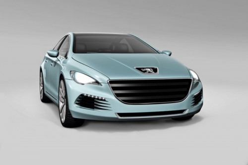 Peugeot 508 preview 2011.1