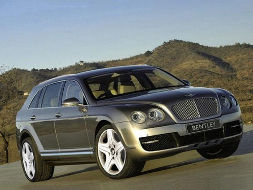bentley SUV Continental Grand Raid
