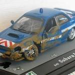 subaru WRX gendarmerie- une bien belle maquette