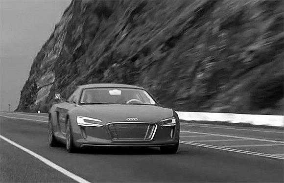 Audi e tron sur route