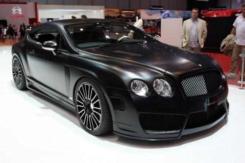 Bentley GT noir mat