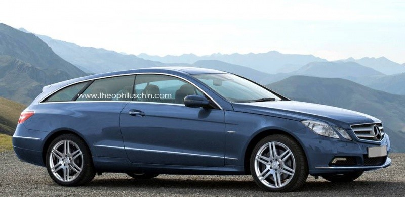 Classe E shooting Brake 2011 by T