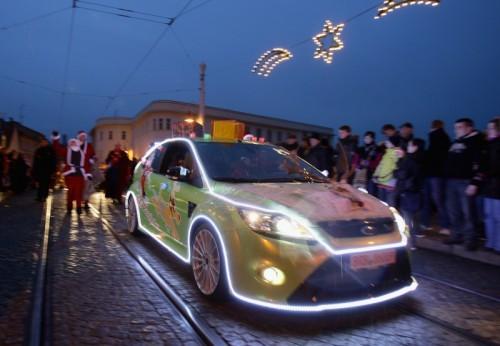 Ford Focus RS du Père Noel