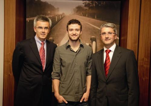 Justin et les chefs d'Audi