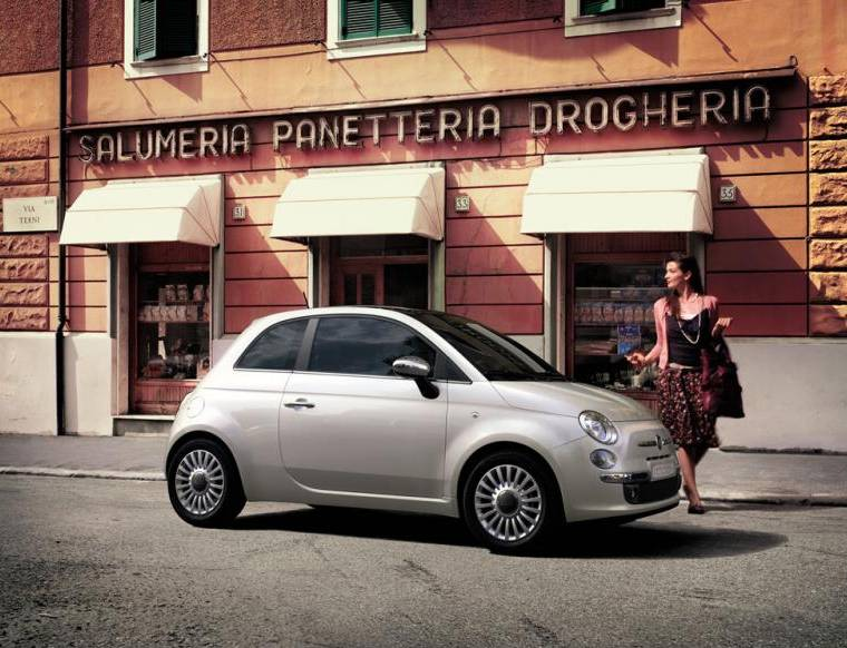 fiat 500 in Italy