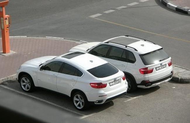 BMW X6 et X5