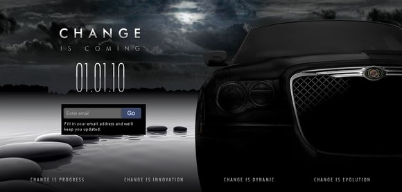 Change is coming from Chrysler UK