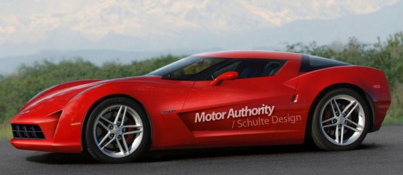 Corvette C7 2012-2013 rendu Schulte design
