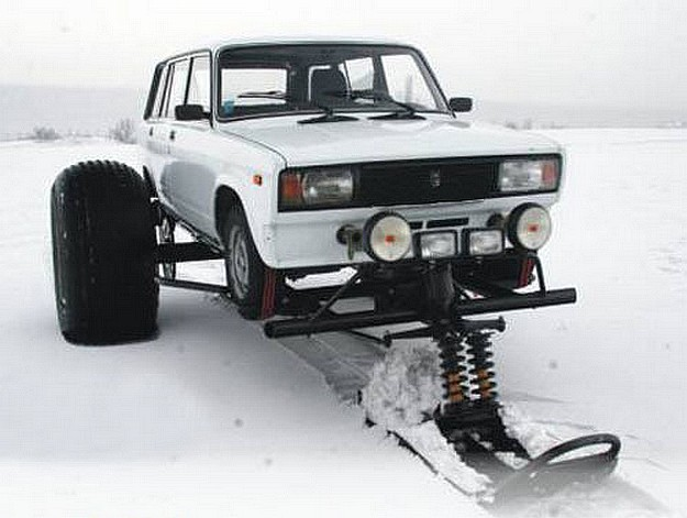 Lada 1500 Break snowfootcar