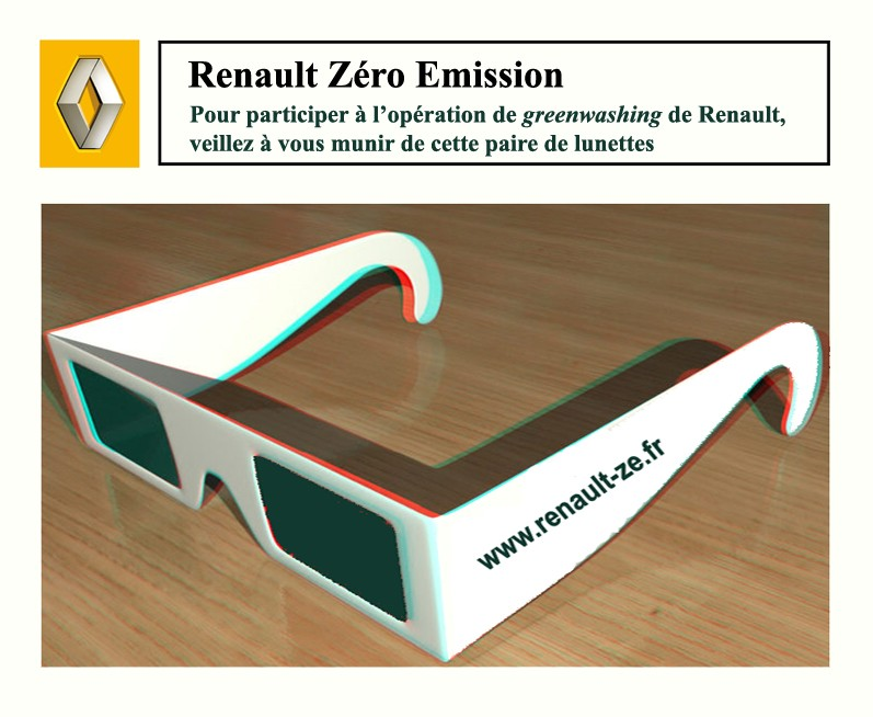 Le Green washing selon Renault