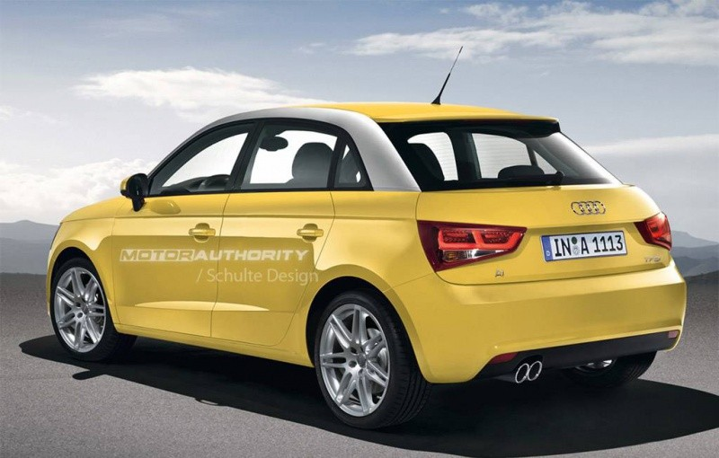 audi a1 la version sportback en previews blog automobile. Black Bedroom Furniture Sets. Home Design Ideas