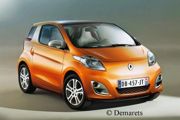 Microcar Renault for 2012