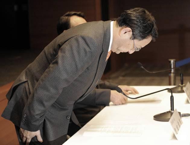 Akio Toyoda s'excuse