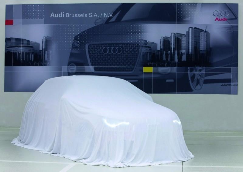 Audi A1 se prend pour un fantome