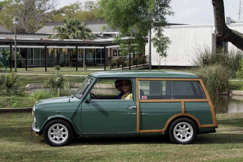 Mini countryman green and woody