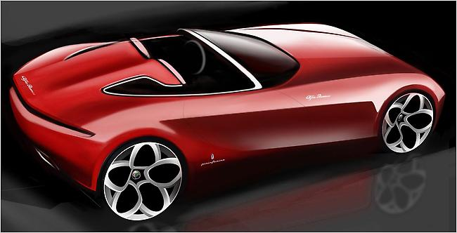 Roadster Alfa by Pininfarina