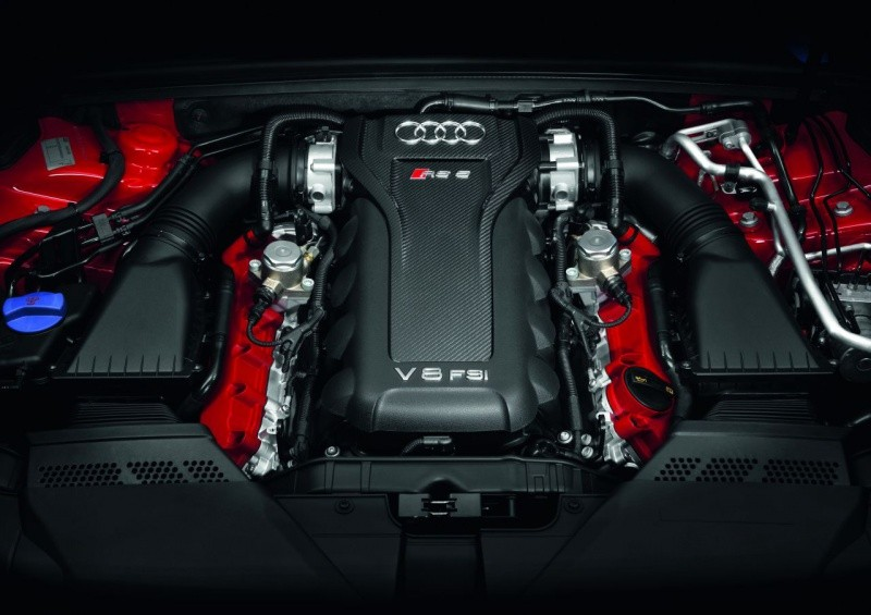 AudiRS5engine