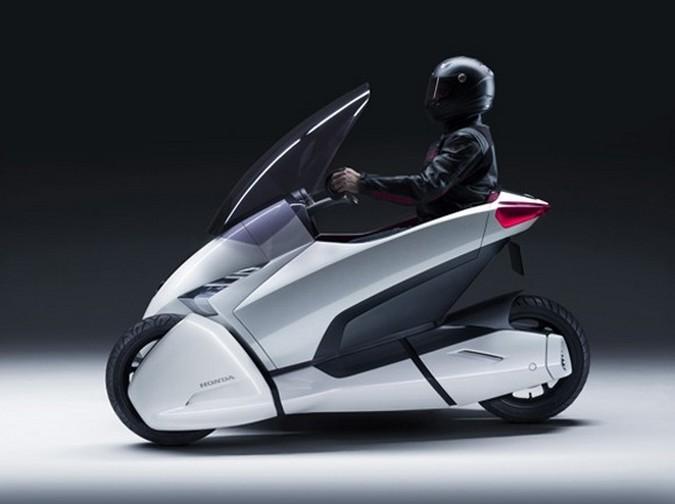 Honda 3R-C side