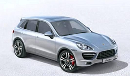 Porsche Cayenne 2010 ( capture d'écran du futur Car configurator )