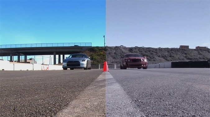 Nissan GTR vs Bentley Continental Supersport