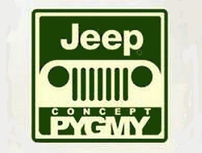 logo jeep pygmy concept