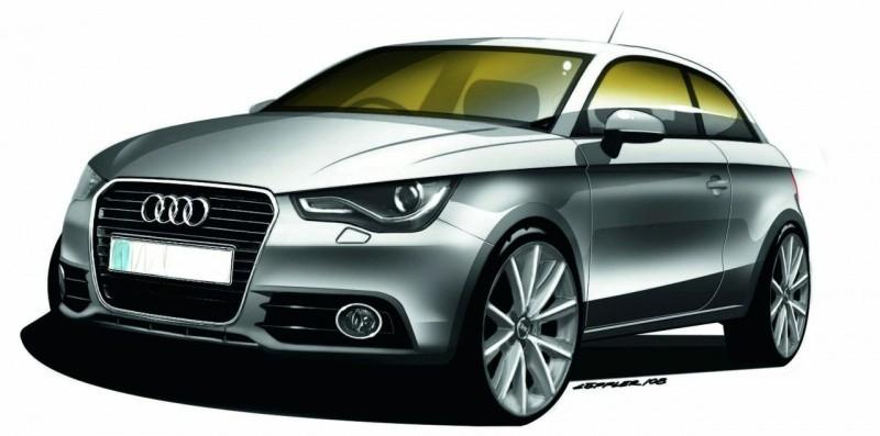 Audi A1 dessin