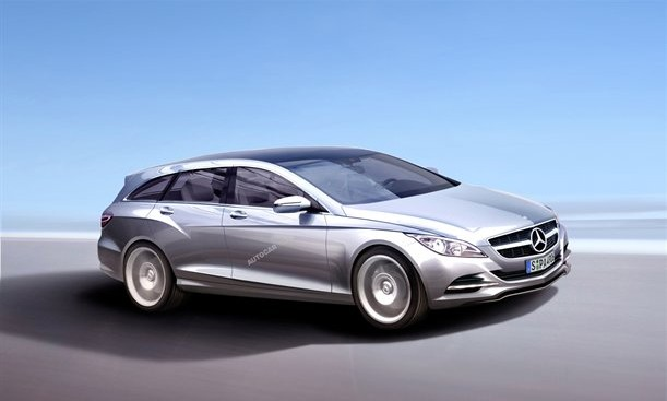 CLS Shooting Break 2011 by Autocar