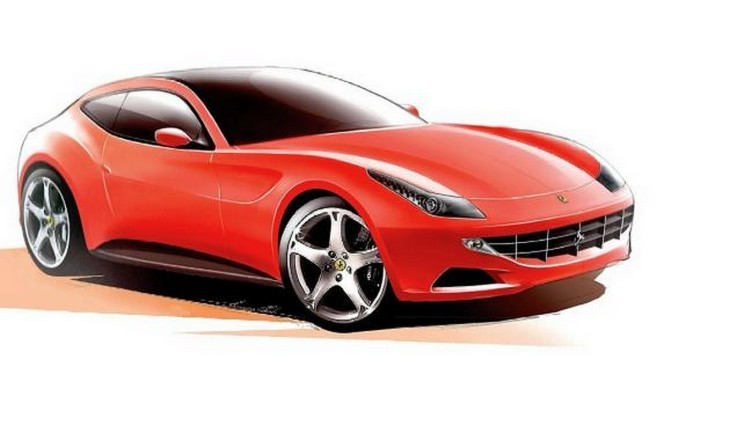 Ferrari Shooting brake 2011-2012