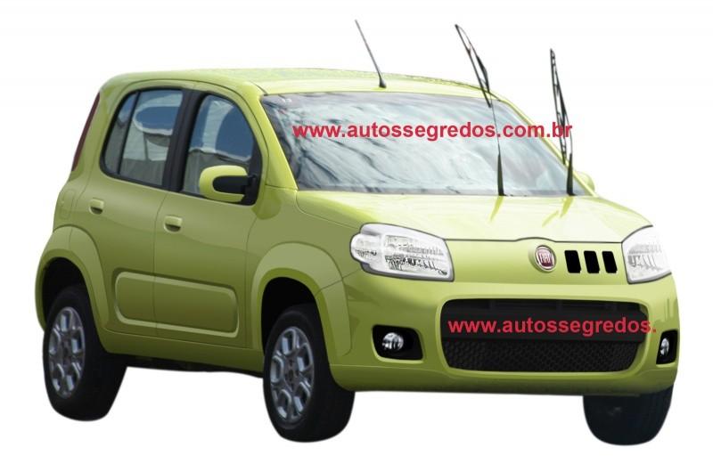 Fiat UNO 2010-2011