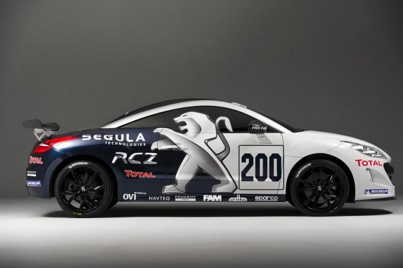Peugeot Rcz En Tenue De Course Blog Automobile