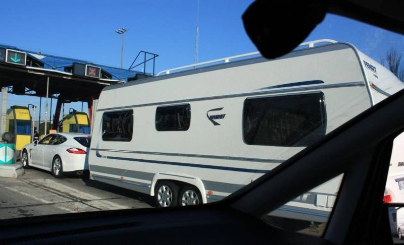 panamera et caravane