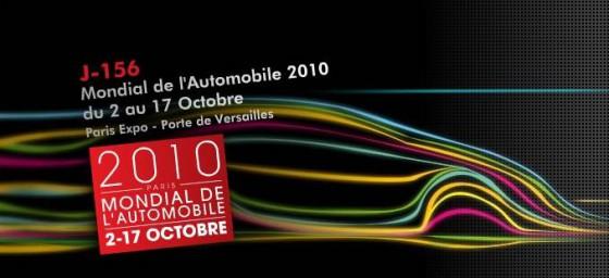 Mondial de l'Automobile de Paris 2010 : Plus que 156 jours pour vous mettre en condition….