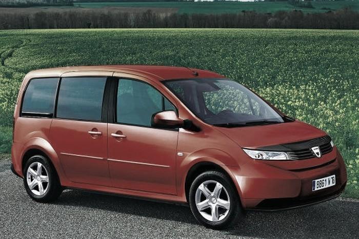 Monospace Dacia 2011-2012